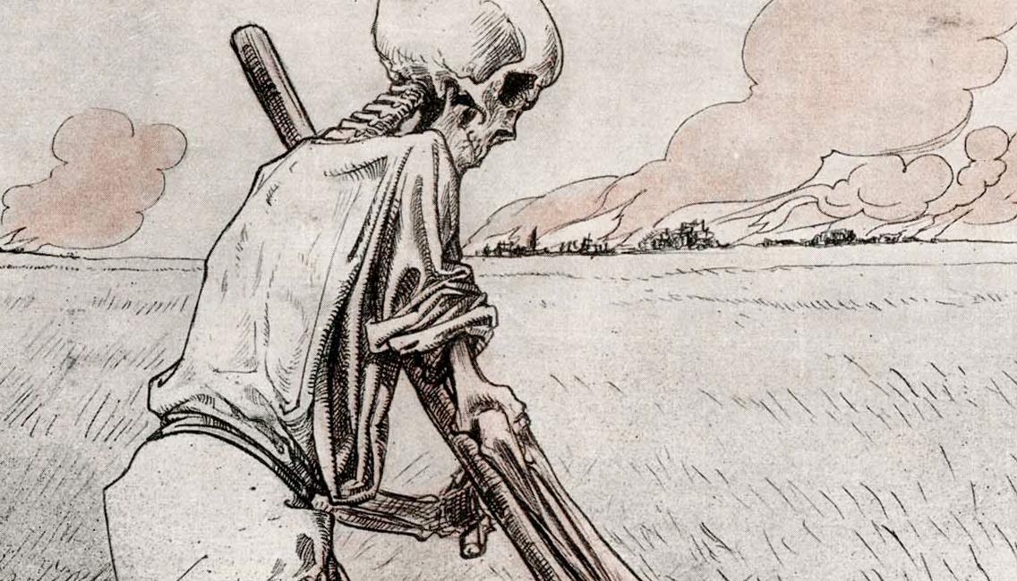 Louis Raemaekers' WWI cartoons'